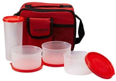 Milton shw full meal combo 3 4 Containers Lunch Box 500 ml