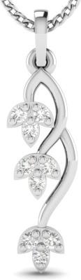 Avsar Monika 18kt Diamond White Gold Pendant Avsar Pendants   Lockets