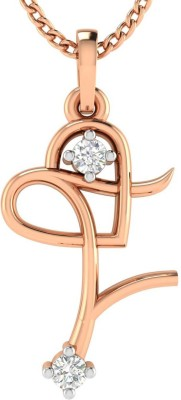 Avsar Namrta 18kt Diamond Rose Gold Pendant