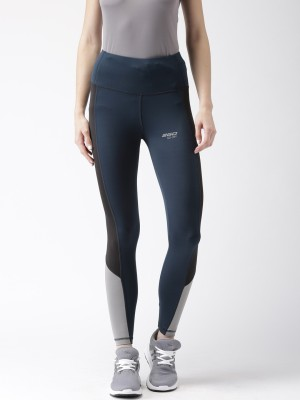 2GO Solid Women Blue Tights