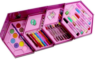 Shoppernation 46 Color Set For Kids Coloring Set Return Gift All in one Color Set