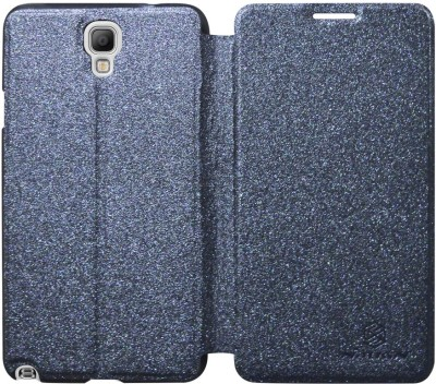 COVERNEW Flip Cover for Samsung Galaxy Note 3 Neo SM-N7500ZKAINU/INS(Black)