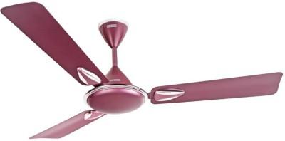 USHA Goodbye Dust - Striker Platinum 1200 mm 3 Blade Ceiling Fan(Lavender Chrome, Pack of 1)