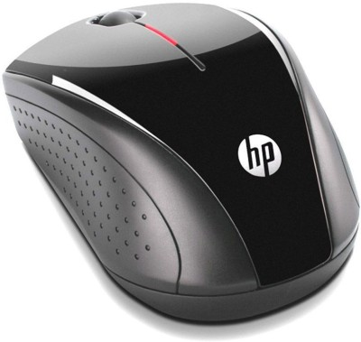 HP X3000 Wireless Mouse 2 Wireless Optical Mouse 2.4GHz Wireless, Black