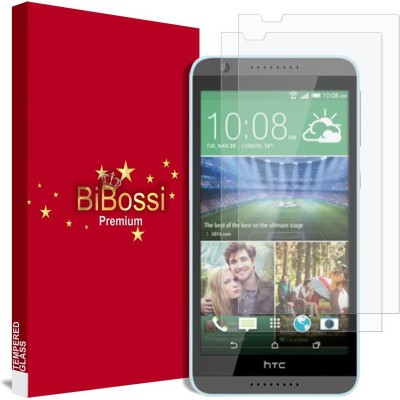 Bibossi Tempered Glass Guard for HTC Desire 820S(Pack of 2)