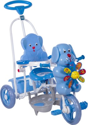 MeeMee Baby Tricycle with Rocking Function (Blue) 8904146760458 Tricycle(Blue)