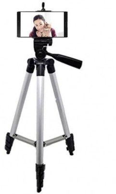 Blue Birds High Quality Professional Camera Tripod Flexible Tripod for Digital DSLR SLR Camera Nikon Canon Sony Tripod(Silver & Black, Supports Up to 1000 g)  available at flipkart for Rs.1549