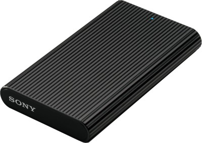 Sony 480 GB Wired External Solid State Drive(Black, Mobile Backup Enabled) at flipkart