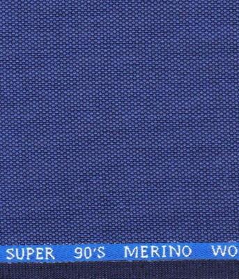 J. HAMPSTEAD Pure Wool Self Design Trouser Fabric(Unstitched)