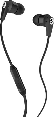 Skullcandy Ink'd Headset with mic (Black & Red, In the Ear) Wired Headset with Mic(Red, In the Ear)