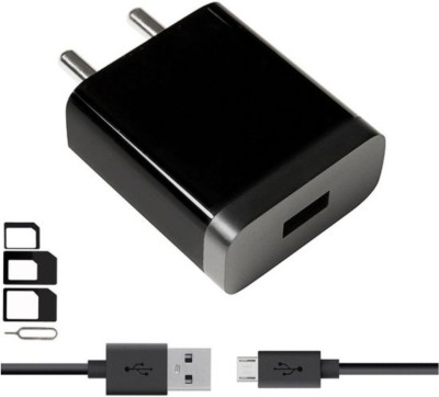 Mii Wall Charger Accessory Combo for Xiomi, Mi, Xiaomi Redmi 5A, Xiaomi Redmi Note 4, Xiaomi Redmi 4A, Xiaomi Redmi Y1 Lite, Xiaomi Redmi 4, Xiaomi Redmi Note 3, Xiaomi Mi4, Xiaomi Mi4i, Xiaomi Mi3, Xiaomi Redmi 2, Xiaomi Redmi 3s Prime, Xiaomi Redmi 2s Prime Charger With 1 Meter Micro USB Charging