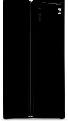 Koryo 584 L Frost Free Side by Side Refrigerator(Black, KSBS605BKINV) at flipkart