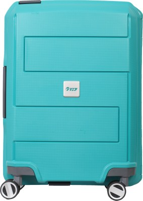 VIP Guardian PP 4W Hard Strolley 55cm Cabin Luggage - 21 inch(Green) at flipkart