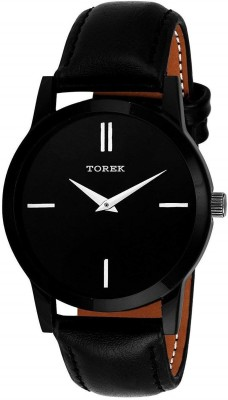 TOREK New Branded Black Strap With Awesome Look Analog Watch   For Men TOREK Wrist Watches