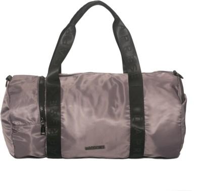 Caprese Pamper Duffle Large Taupe Travel Duffel Bag(Grey)