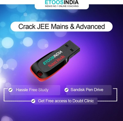 ETOOSINDIA IIT JEE Video Lectures: Complete Physics for JEE Main and Advanced by NKC Sir(USB) at flipkart