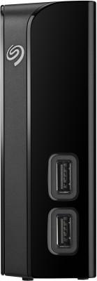 Seagate Backup Plus Hub 4 TB External Hard Disk Drive(Black)