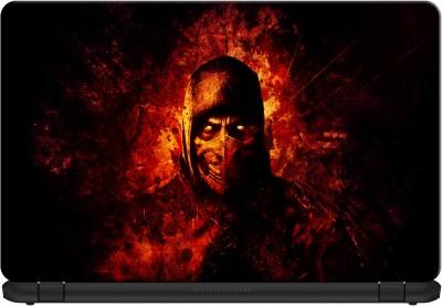 doodad Scorpion fire Premium Vinyl Laptop Decal 15.6