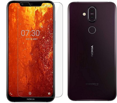 Highderabad Tech Tempered Glass Guard for NOKIA 8.1