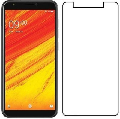 AMETHYST Tempered Glass Guard for LAVA Z91(Pack of 1)