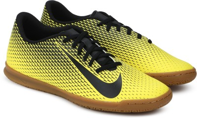 Nike BRAVATA II IC Football Shoes For Men Yellow Nike Sports Shoes