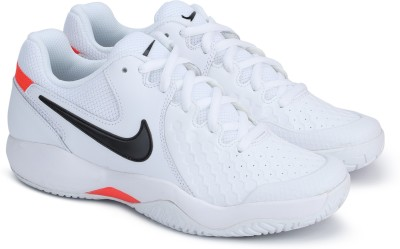 Nike AIR ZOOM RESISTANCE Walking Shoes For Men(White) at flipkart