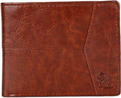 Kara Men Casual Brown Artificial Leather Wallet