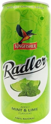 Kingfisher Radler Mint and Lime Flavours Can(300 ml)