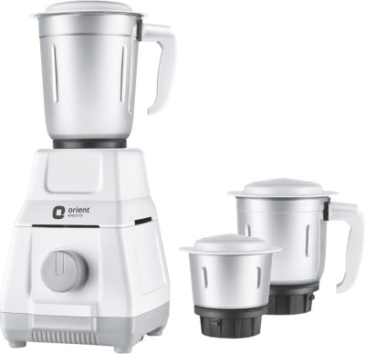 Orient Electric Spint+ Sprint+ 500 W Mixer Grinder(Grey, 3 Jars)