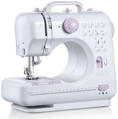 IBS Portable mini household Handheld 12 Built-In Stitches Electric Sewing Machine( Built-in Stitches 45)