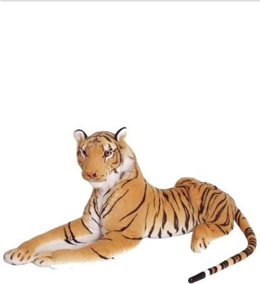 JAIBALAJITRADING Brown Tiger   40 cm Brown JAIBALAJITRADING Soft Toys