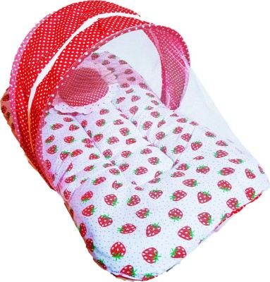 Dhuloom Cotton Bedding Set(Red)