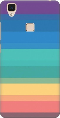 KWINE CASE Back Cover for Vivo V3 Multicolor, Hard Case KWINE CASE Designer Cases   Covers