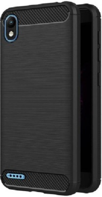 Assault Back Cover for Infinix Smart 2 (Bordeaux Red, 16 GB)(Black, Shock Proof, Silicon)