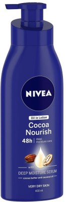 NIVEA Cocoa Nourish oil in Lotion  (400 ml)