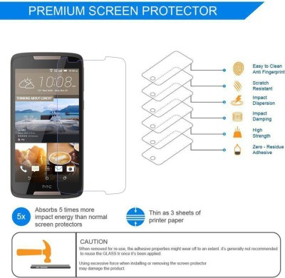 Unow Impossible Screen Guard for HTC Desire 10 Pro