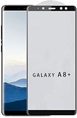 EWOKIt Tempered Glass Guard for Samsung Galaxy A8+(Pack of 1)