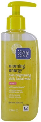Clean & Clear Skin Brightening Morning Energy Daily Facial Wash Face Wash(150 ml)