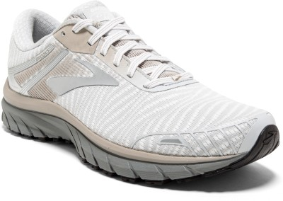 Brooks Adrenaline GTS 18 Synthetic White Running Shoes For Men(White) at flipkart