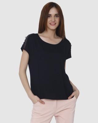 Zimaleto Casual Short Sleeve Solid Women