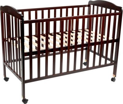 LuvLap Baby Wooden cot Cot Bunk(Wood, Cherry Red) at flipkart