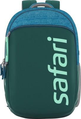 Safari SPREEUSB 19 CASUAL BACKPACK BLUE 29 L Medium Backpack(Green, Blue)