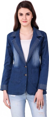 Clo Clu Denim Solid Coat