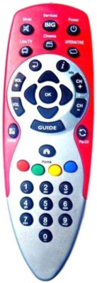 VBEST RELIANCE BIG TV Remote Controller Silver