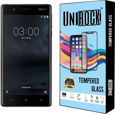 Unirock Tempered Glass Guard for Nokia 3(Pack of 2)