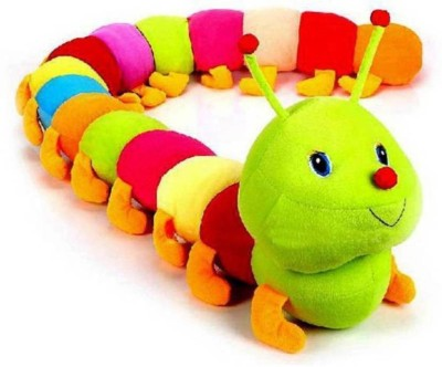 Gifteria Cute Colorful Caterpillar Soft Toy   55 cm Multicolor Gifteria Soft Toys