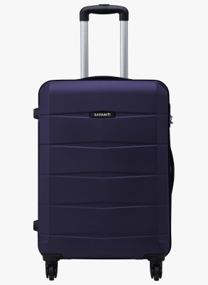 Safari Regloss Antiscratch Expandable Check in Luggage   25 inch