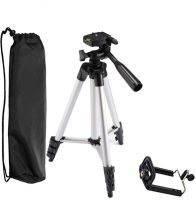 LIFEMUSIC Mobile Holder Bracket Stand Tripod Kit Silver   Black, Supports Up to 1500 LIFEMUSIC Tripods