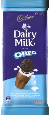 Cadbury Dairy Milk Oreo 180g Bars