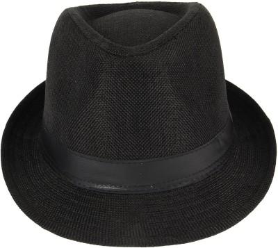 MLN Mens Fedora Black